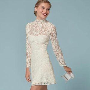Reformation Celia Dress, Ivory Sz 6